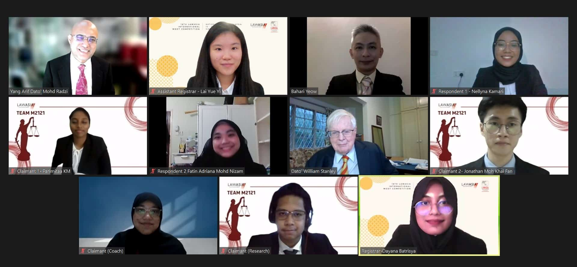 16th lawasia international moot competition